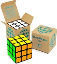 SpeedRipper Air: Tournament Black Rubiks 3x3 Speed Cube, Sturdy and Well-Made, Buttery Smooth Turning, Best Logic Games Puzzle Magic Toy for Kids, Ultimate Gift for Professional Cubers