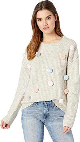 Pompom Knit Sweater
