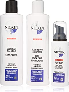 Nioxin Hair Care System 6 Kit for Chemically Treated Hair with Progressed Thinning