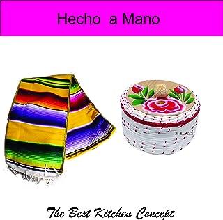 The Best Kitchen concept Tortillero de mimbre y Camino de mesa Juntos Los dos articulos por un precion economico