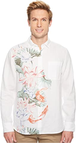 Koi West Linen Camp Shirt