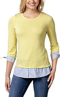 Walbusch Damen Blusenshirt 2 in 1 einfarbig