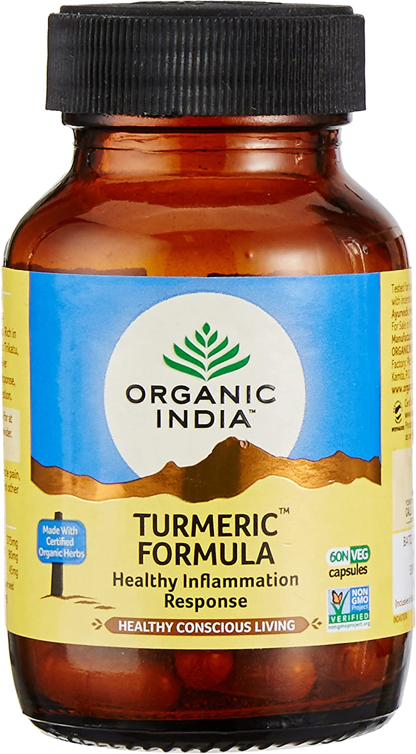 Organic India Turmeric Formula Bottle 60 1 Attention brand - In a popularity Capsules