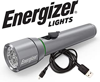 Energizer High-Powered LED Flashlight, High Lumens, IPX4 Water Resistant, Long-Lasting Battery Life, Use For Survival Kits, Camping, Outdoors, Emergency