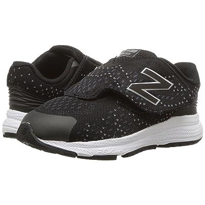 New Balance Kids Rush (Infant/Toddler) (Black/Grey) Boys Shoes