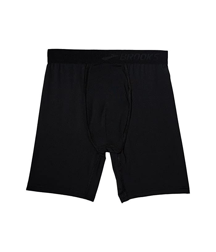 Brooks All-In Training Boxer Brief (Black) Men