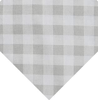 Premier Prints 0427440 Plaid French Grey Twill Fabric by the Yard