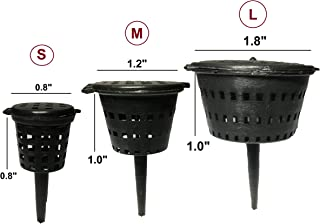 Best Fertilizer Basket for Garden Flower Osmocote Plant Pot Potted Holder Size S,M,L (100, M)