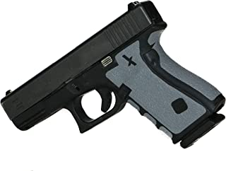 Foxx Grips -Gun Grips Glock 17, 22, 24, 31, 34, 35, 37 Grey (Grip Enhancement)