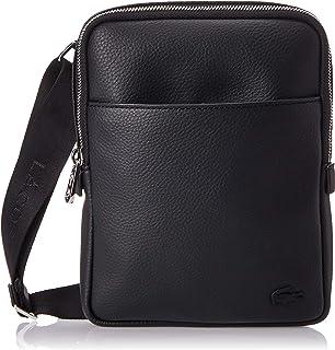حقيبة تمر بالجسم للرجال من لاكوست، اسود (000) - NH2840GL