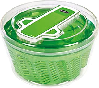 Zyliss Swift Dry Salad Spinner, Green, Large