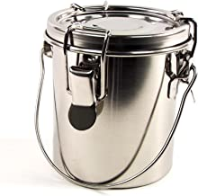 Guerrilla Painter Plein Air 10oz Stainless Steel Brush Washer with Removable Screen Insert