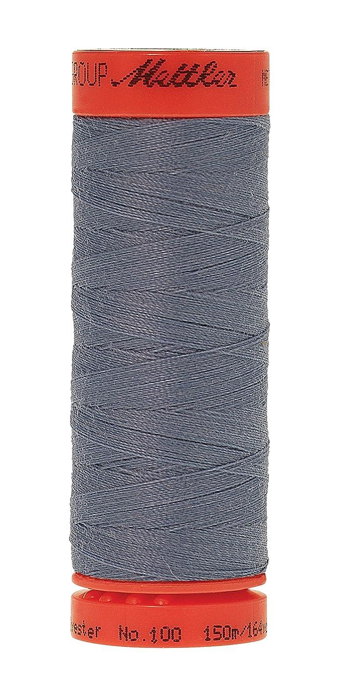 Mettler Metrosene 100% Core Spun Polyester Thread, 165 yd, Blue Speedwell ephbxovfvqs162