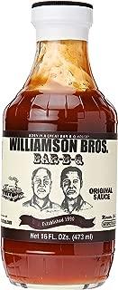 Williamson Bros Bar-B-Q Sauce, Original, 16 oz