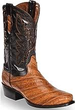 Dan Post Men's Two Tone EEL Cowboy Boot Square Toe - Dps340