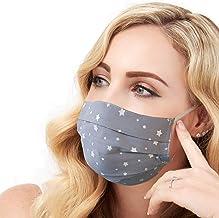 Fashion Face Mask, Handmade Cover, Reusable, 100% Cotton,