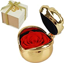 Morther's Day Gifts, Preserved Roses, Gift for Mom Mum, Red Rose, Handmade Preserved Roses Present, Upscale Immortal Flowers Best Gift for Female Birthday, Anniversary, Christmas