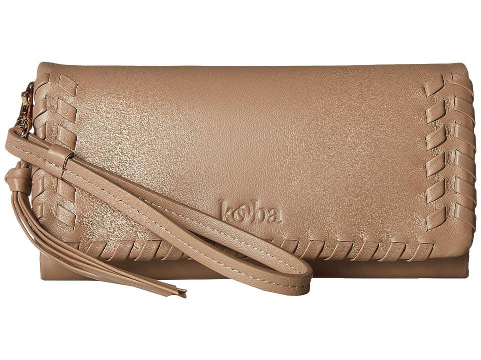 Kooba Puccini Wallet (Chai) Wallet Handbags, Brown