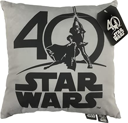 featured product Jay Franco 40th Logo Decorative Toss Throw Pillow Gray