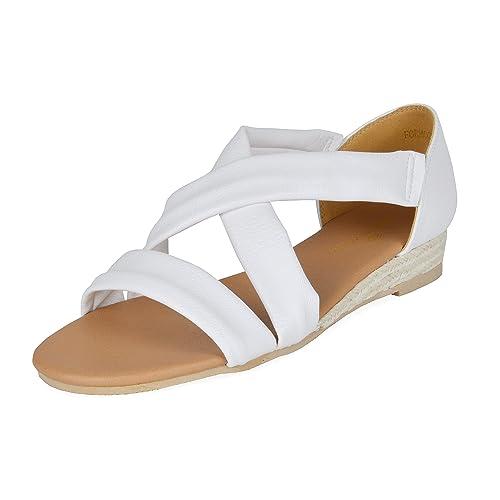 68161e418c DREAM PAIRS Formosa Women's Low Wedge Sandal