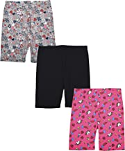 Star Ride 3-Pack Girls Athletic Shorts, Bike Shorts, Workout Clothes for Girls