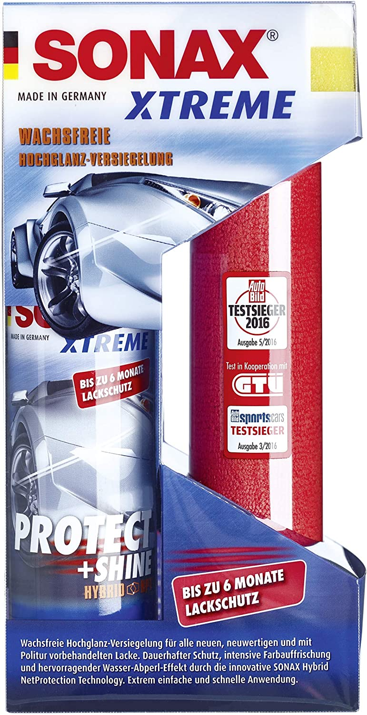 Sonax Xtreme Protect Shine Hybrid Npt 210 Ml Wachsfreie Hochglanz Versiegelung Felgenbeast 1 L Entfernt Selbst Biestige Verschmutzungen Auto