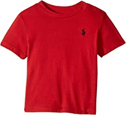 Ralph Lauren Baby Cotton Jersey Crew Neck T-Shirt (Infant)