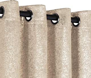 GoodGram 2 Pack Sparkle Chic Thermal Blackout Curtain Panels – Assorted Colors..