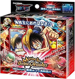 Miracle Battle Card Dasu One Piece Structured Luffy Pirates (japan import)