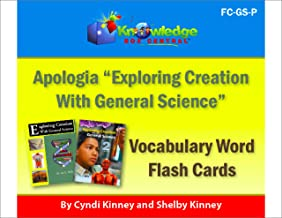 Apologia Vocabulary Word Flash Cards - Exploring Creation with General Science