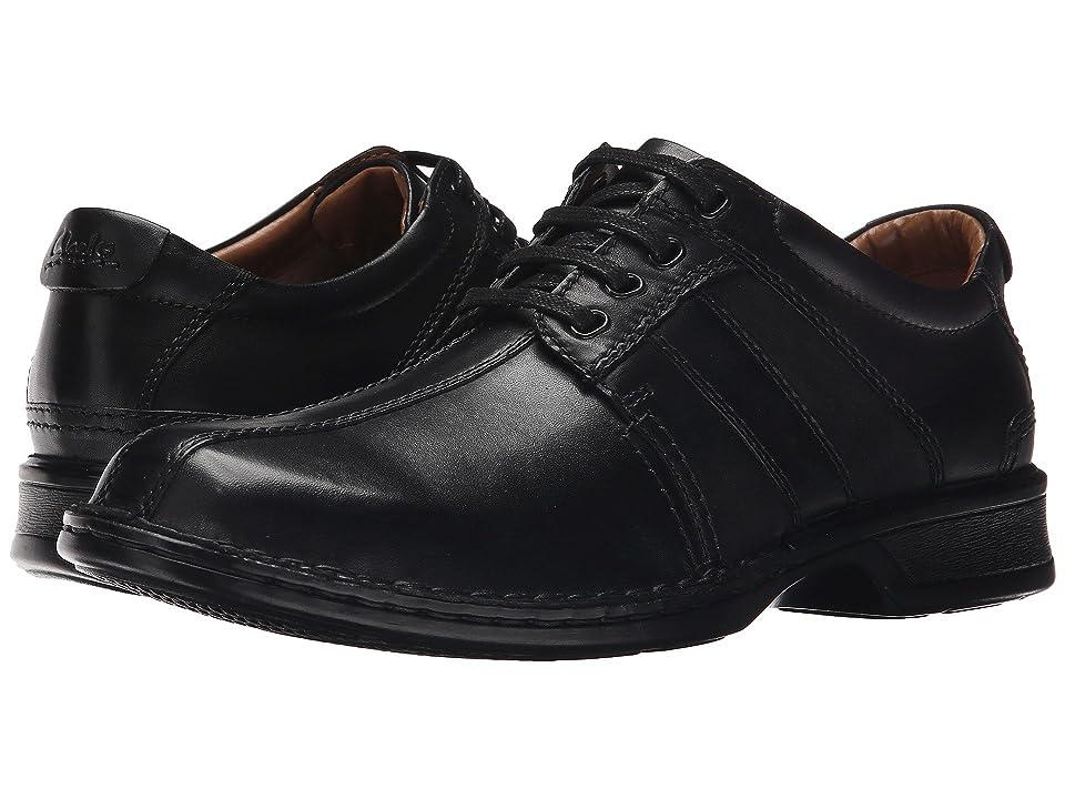 Clarks Touareg Vibe (Black Leather) Men
