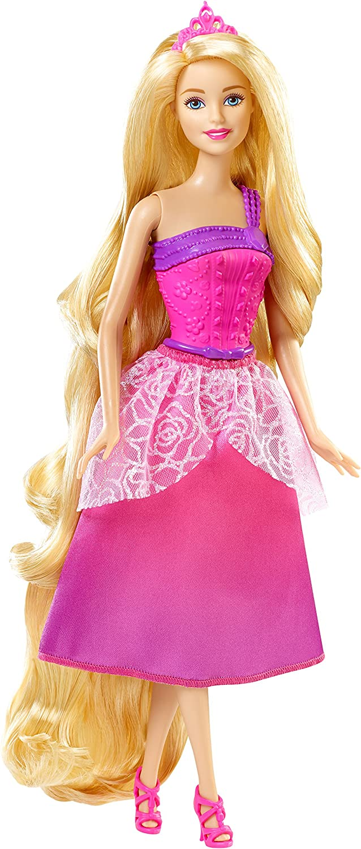 Barbie unisex Endless Hair Kingdom Doll Import Pink Princess