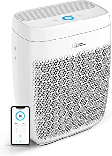 Air Purifier, Zigma Smart WiFi Air Purifier for Large Room up to 1580 ft2, Available for California, True HEPA 5-in-1 Air ...