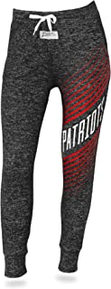 Zubaz Women's Officially Licensed NFL Joggers, Dark Heathered Gray