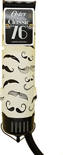 Oster Classic 76 Detachable Blade Clipper 76076-150 (Limited Edition) Famous Mustaches