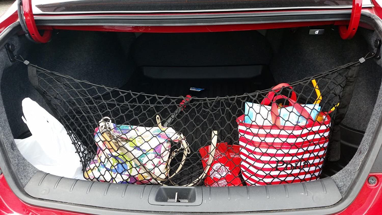 Envelope Style High quality Trunk Cargo Net for Coupe - Door ...