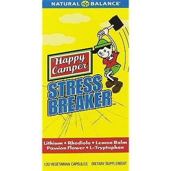 Happy Camper Stress Breaker Natural Balance 120 VCaps