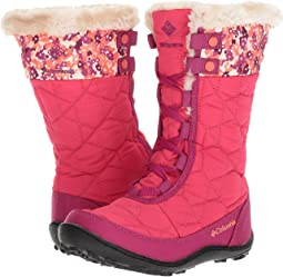 Columbia Kids - Minx™ Mid II Waterproof Omni-Heat™ Print Boot (Little Kid/Big Kid)