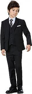 Boysクラシックフォーマルドレススーツセット5ピーススリムフィットDresswear Suit