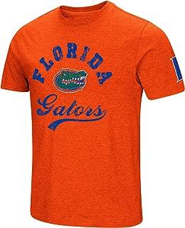 NCAA Colosseum Men's Vintage Dual-Blend T-Shirt with 2 Logos