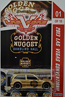 Hot Wheels Honda Civic EF Custom-Made Limited Edition 2013 Las Vegas Convention Golden Nugget Series 1:64 Scale Collectible Die Cast Model Car.