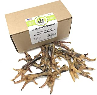USA Chicken or Duck Feet Treats for Dogs - Human-Grade Dehydrated Dental Chews with Collagen, Glucosamine & Chondroitin by Sancho & Lola's - Raw Diet Approved