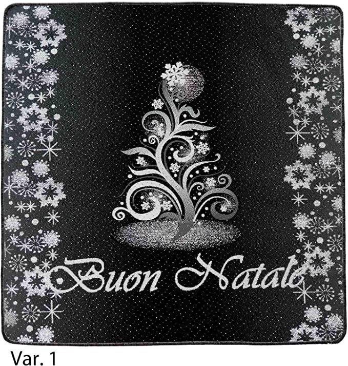 Juventus Buon Natale.Casa Tessile Tappeto Passatoia Bordata Buon Natale Var 1 Amazon It Casa E Cucina