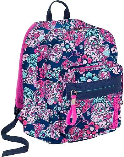 autorización oficial Backpack Seven OutTalla OutTalla OutTalla Sugarskull azul  auténtico