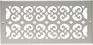 Decor Grates S614R-WH Floor Register, 6-Inch by 14-Inch, White