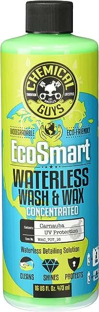 Bottle of Eco Smart waterless car wash & wax.