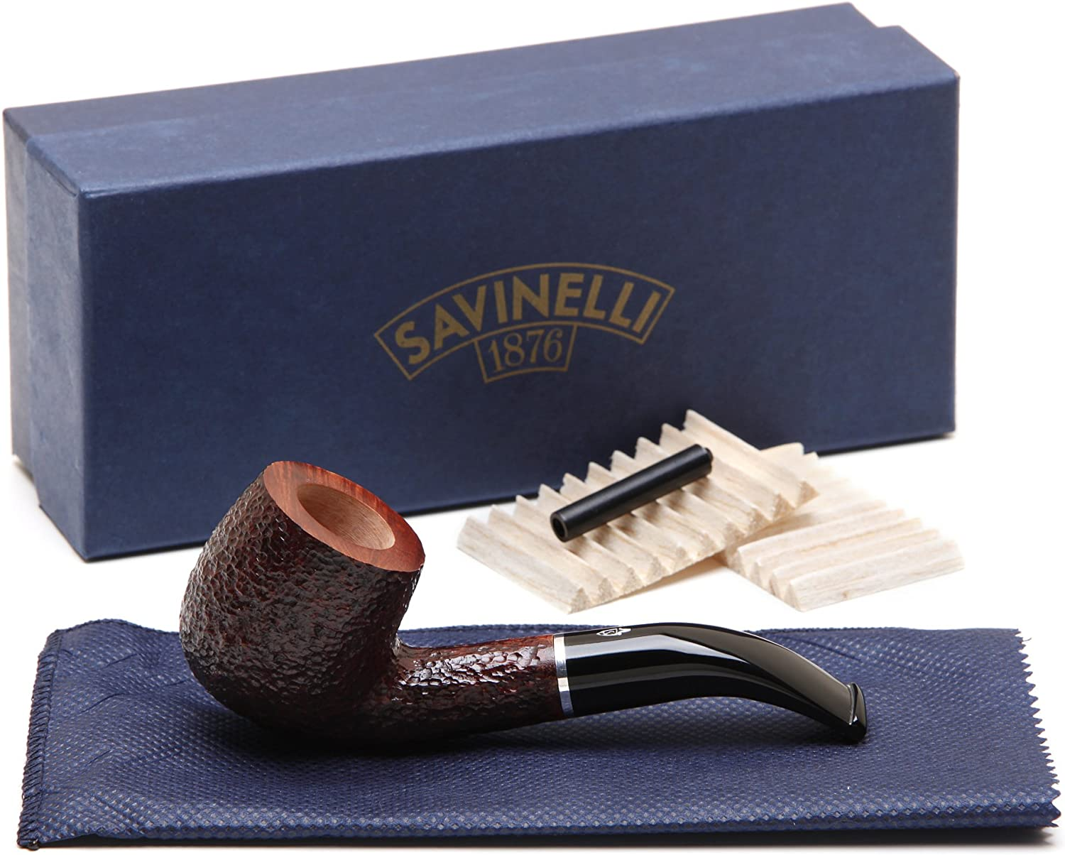 Fixed price for sale Savinelli Pocket Brownblast Tobacco 601 Factory outlet Pipe