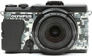 Japanhobbytool Olympus STYLUS XZ-2 Camera Leather Decoration Sticker Digital Camouflage type 8500
