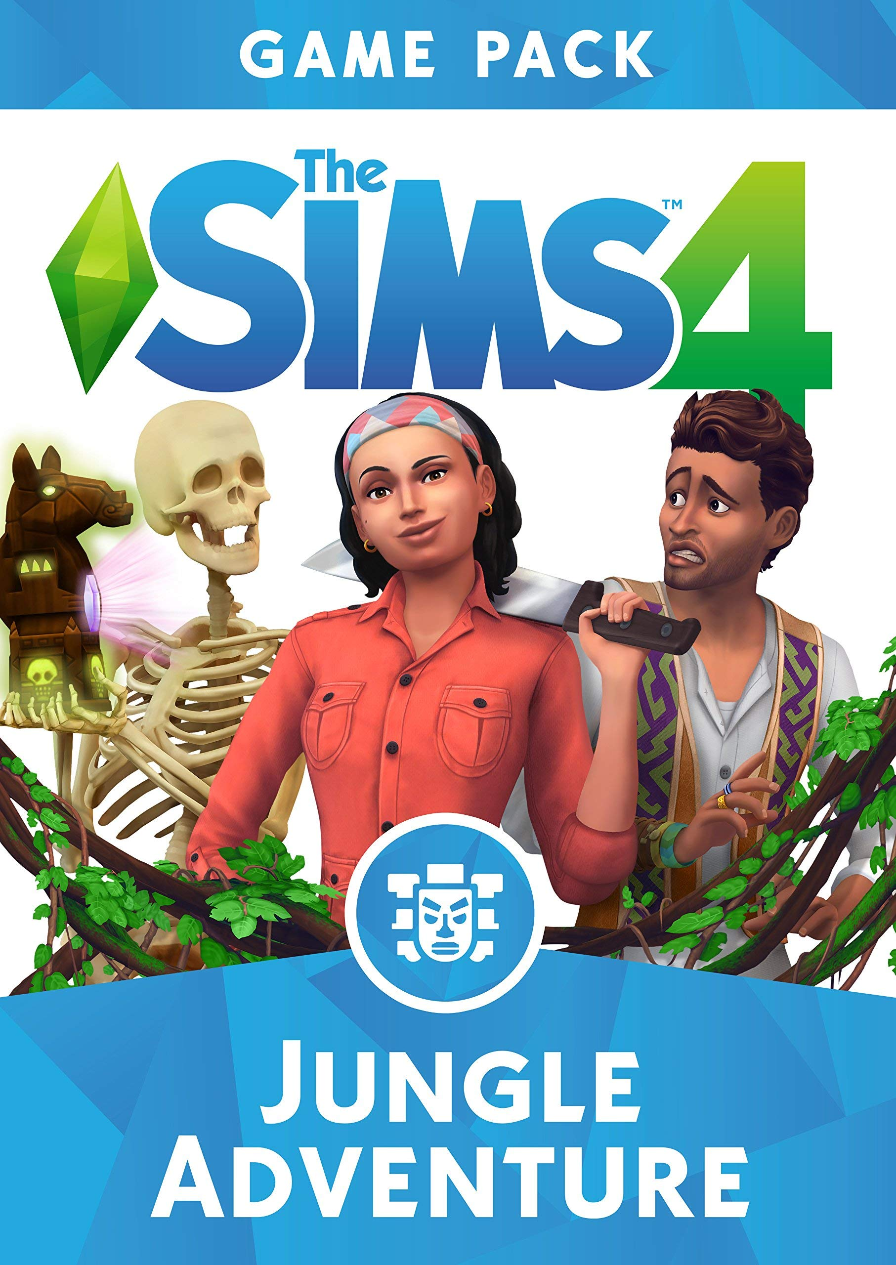 Los Sims 4 - Aventura en la Selva DLC | Código Origin para PC: Amazon.es: Videojuegos