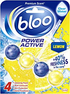 Bloo - Power Active, Lemon - Toilet Rim Block, 50 g